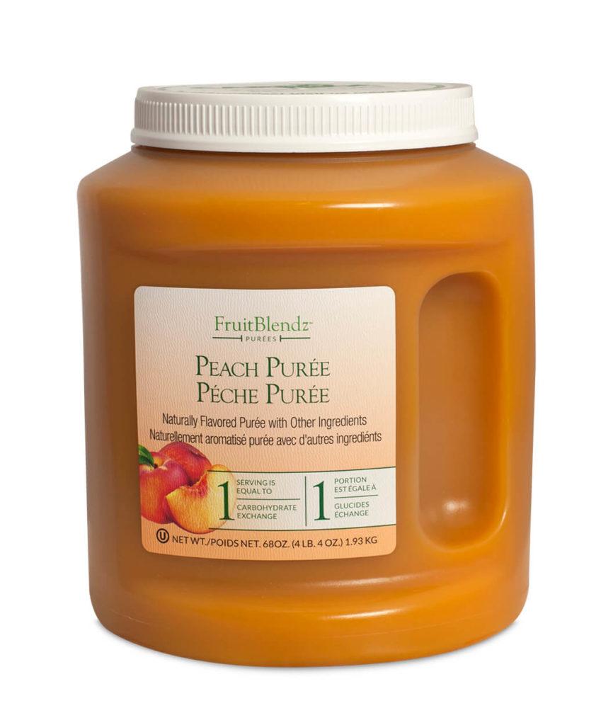 FruitBlendz 68oz Peach Puree